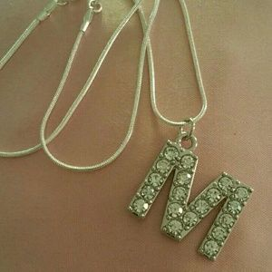 Jewelry - Stamped 925 Sterling Silver Chain Personalized Ini
